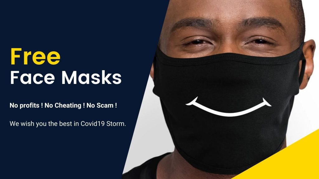 Free Mask Banner 2 - Danganronpa Merch