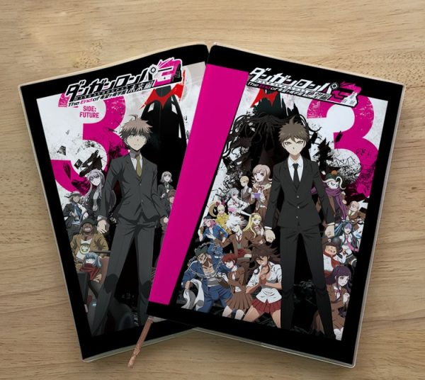 Anime Danganronpa V3 Enoshima Junko Naegi Makoto Kirigiri Kyouko Student notebook Eye protection Diary Notepad memorandum 1 - Danganronpa Merch