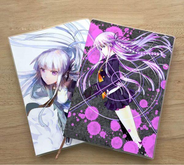 Anime Danganronpa V3 Enoshima Junko Naegi Makoto Kirigiri Kyouko Student notebook Eye protection Diary Notepad memorandum 5 - Danganronpa Merch