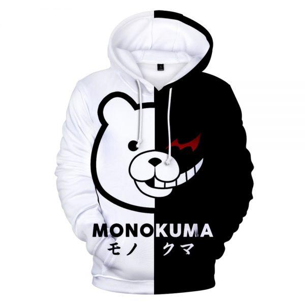 Anime Super Danganronpa Monokuma Cosplay Costume 3D Printed Unisex Oversized Casual Hoodies Sweatshirts Fashion Full Cartoon 1 - Danganronpa Merch