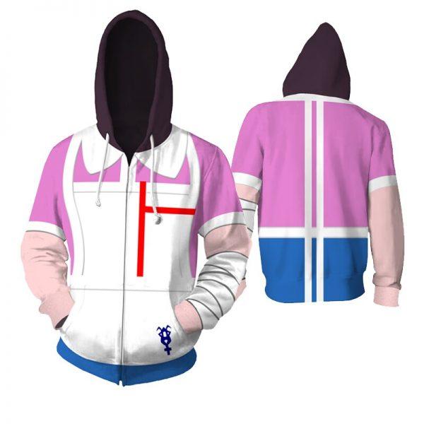 Costume Danganronpa Cosplay Hoodies Enoshima Junko Hoodies Nanami Chiaki Hooded Jackets Anime Adult Tops Unisex Polyester 3 - Danganronpa Merch