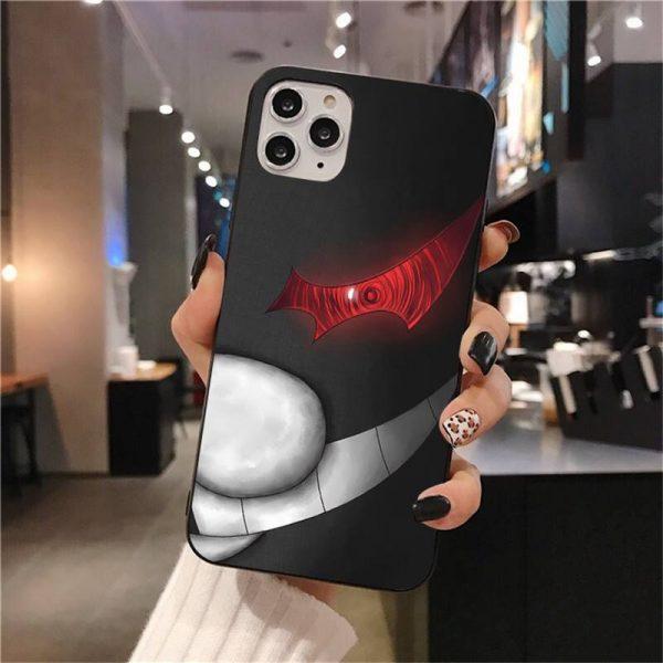 Cute Kumamon Danganronpa Monokuma Soft Silicone Black Phone Case for iPhone 11 pro XS MAX 8 1 - Danganronpa Merch