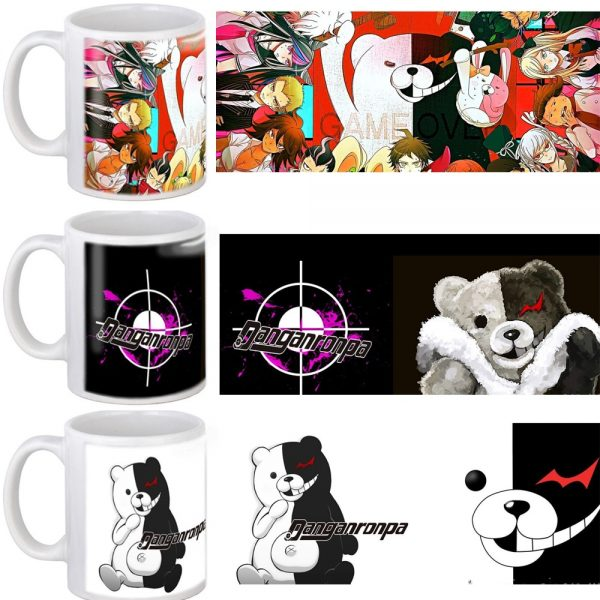 DANGANRONPA Mug 11oz Ceramic Coffee Mug Milk tea Cup Friend Birthday Gift - Danganronpa Merch