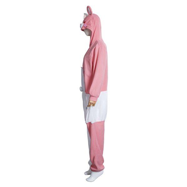 Danganronpa Dangan Ronpa Monokuma Monomi Cosplay Costume Pink Pajamas Suit Halloween Carnival Party Jumpsuit Sleepwear 5 - Danganronpa Merch