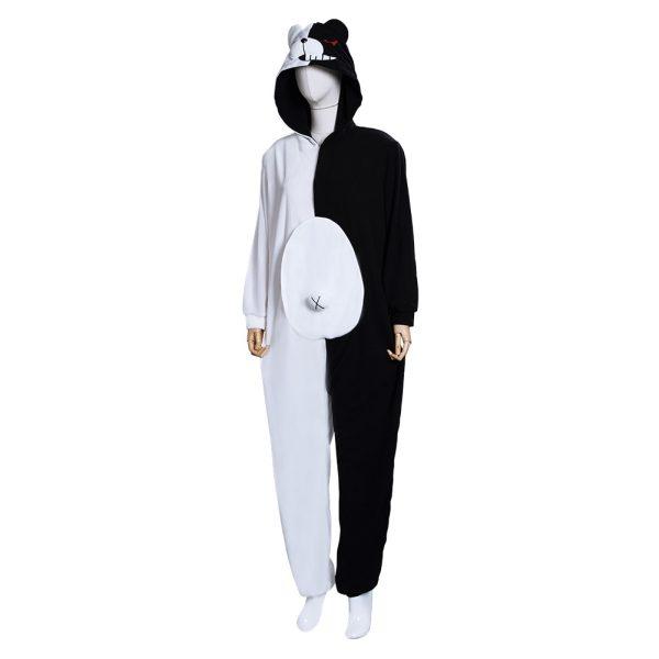 Danganronpa Dangan Ronpa Monokuma and Monomi Cosplay Costume Jumpsuit Pajamas 2 - Danganronpa Merch