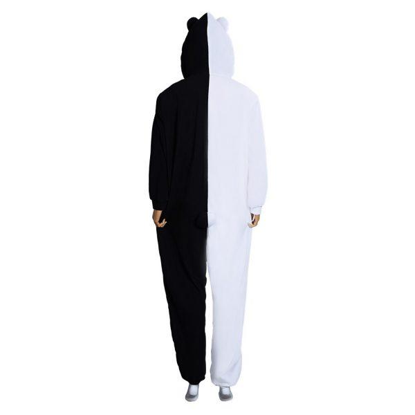 Danganronpa Dangan Ronpa Monokuma and Monomi Cosplay Costume Jumpsuit Pajamas 3 - Danganronpa Merch