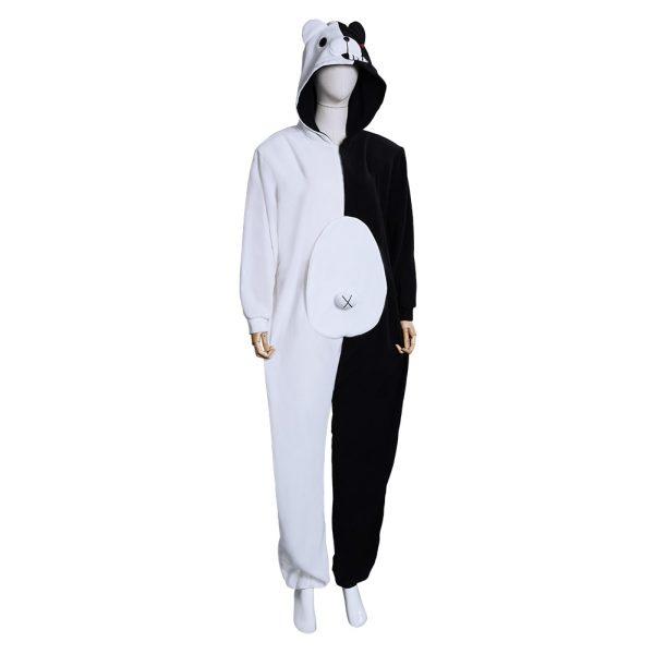 Danganronpa Dangan Ronpa Monokuma and Monomi Cosplay Costume Jumpsuit Pajamas 4 - Danganronpa Merch