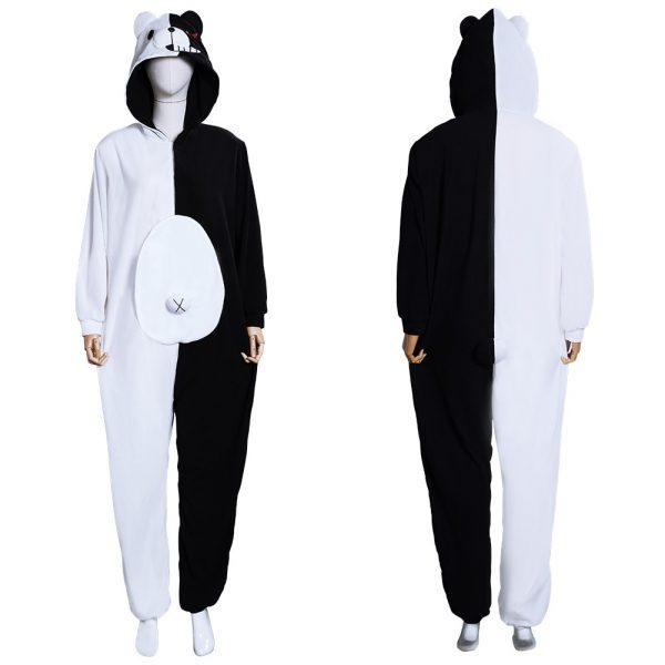 Danganronpa Pajamas - Monokuma and Monomi Cosplay Costume Jumpsuit