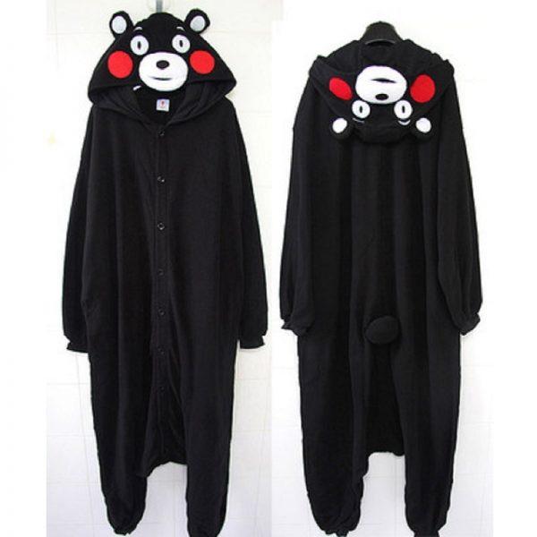 Spring Anime Danganronpa monokuma Cosplay pajama Adult Unisex Onesie Kumamon monokuma Gloomy Bear Sleepwear Pyjamas 1 - Danganronpa Merch